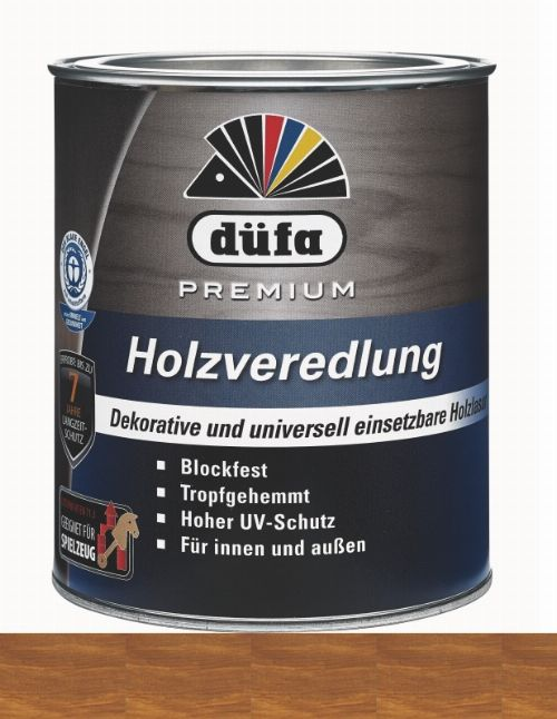 Bild: Holzlasur - Premium Holzveredlung (Teak; 750 ml)