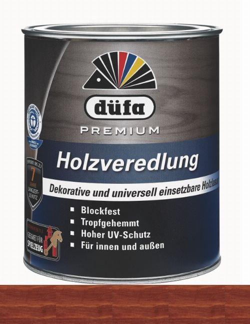 Bild: Holzlasur - Premium Holzveredlung (Mahagoni; 750 ml)