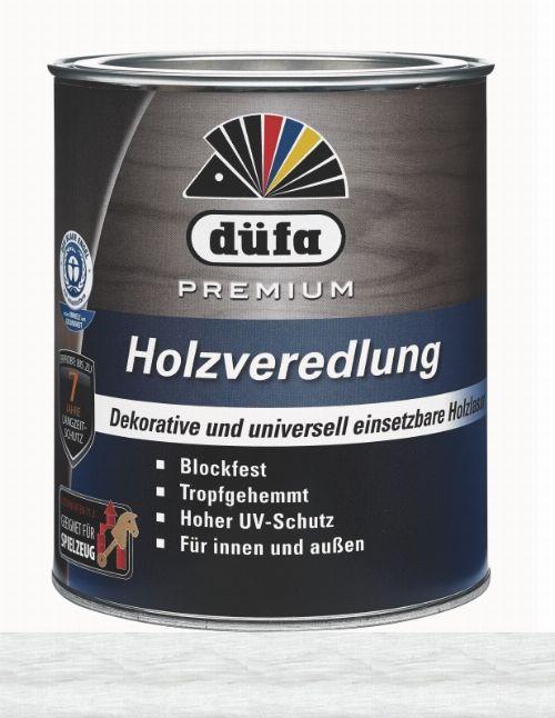 Bild: Holzlasur - Premium Holzveredlung (Weiß; 2.5 Liter)