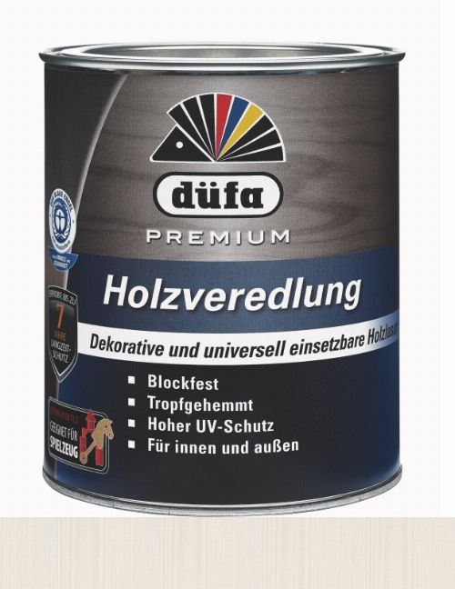 Bild: Holzlasur - Premium Holzveredlung (Alabaster; 750 ml)