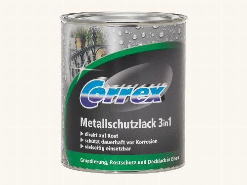 Bild: Metallschutzlack 3in1 (Weiß; 250 ml)