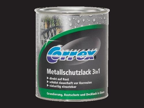 Bild: Metallschutzlack 3in1 (Schwarz matt; 750 ml)