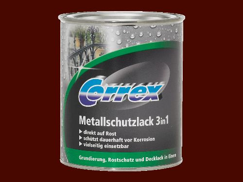 Bild: Metallschutzlack 3in1 (Braun; 250 ml)