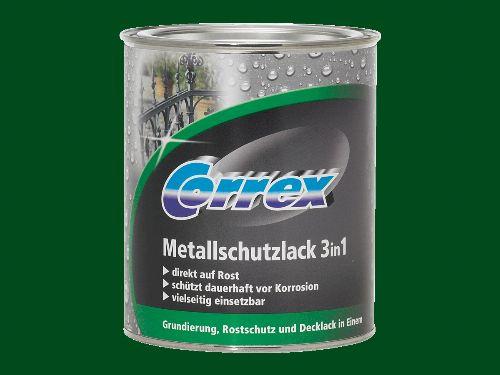 Bild: Metallschutzlack 3in1 (Dunkelgrün; 250 ml)