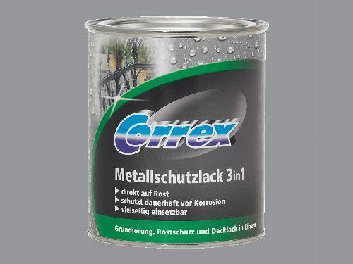Bild: Metallschutzlack 3in1 (Silbergrau; 250 ml)