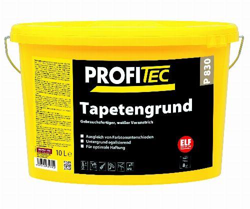 Bild: P830 Tapetengrund (Weiß; 10 Liter)
