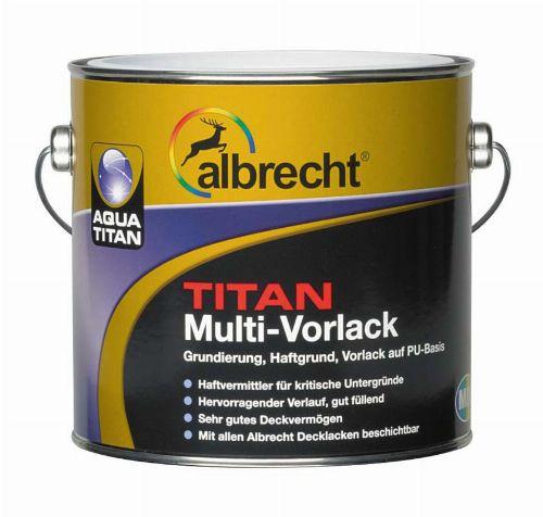 Bild: Aqua Titan Multi-Vorlack (Weiß; 750 ml)
