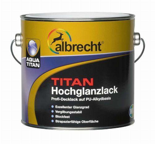 Bild: Aqua Titan Hochglanzlack (Weiß; 750 ml)