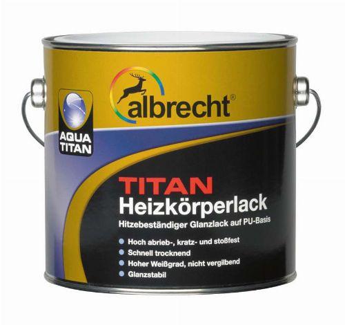 Bild: Aqua Titan Heizkörperlack (Weiß; 750 ml)