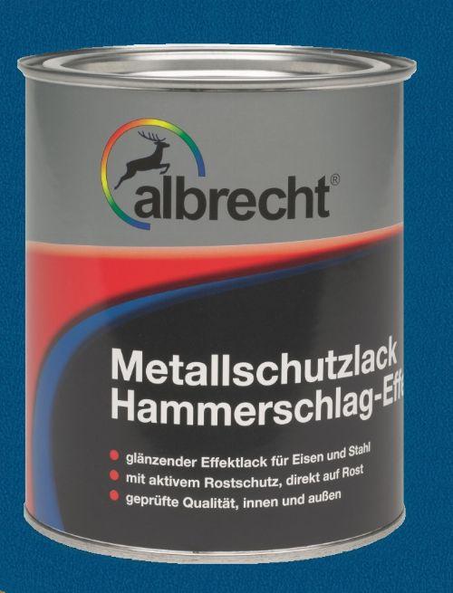 Bild: Metallschutzlack mit HSE (Dunkelblau; 750 ml)