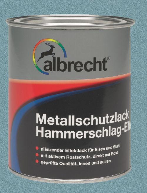Bild: Metallschutzlack mit HSE (Billantblau; 750 ml)