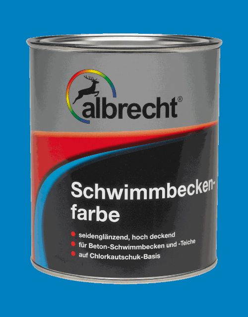 Thumbnail: Schwimmbeckenfarbe (RAL 0120; 750 ml)