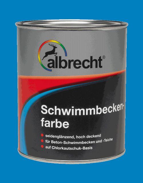 Bild: Schwimmbeckenfarbe (RAL 0120; 2.5 Liter)