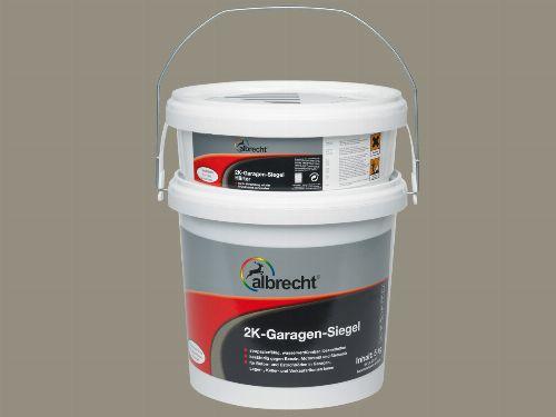 Bild: 2K Garagen-Siegel (Steingrau; 5 kg)