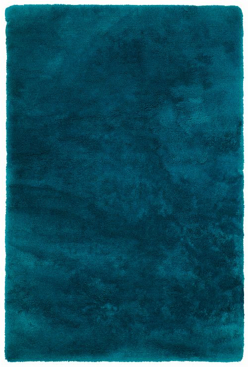 Bild: Glanz Teppich - Curacao (Petrol; 80 x 150 cm)