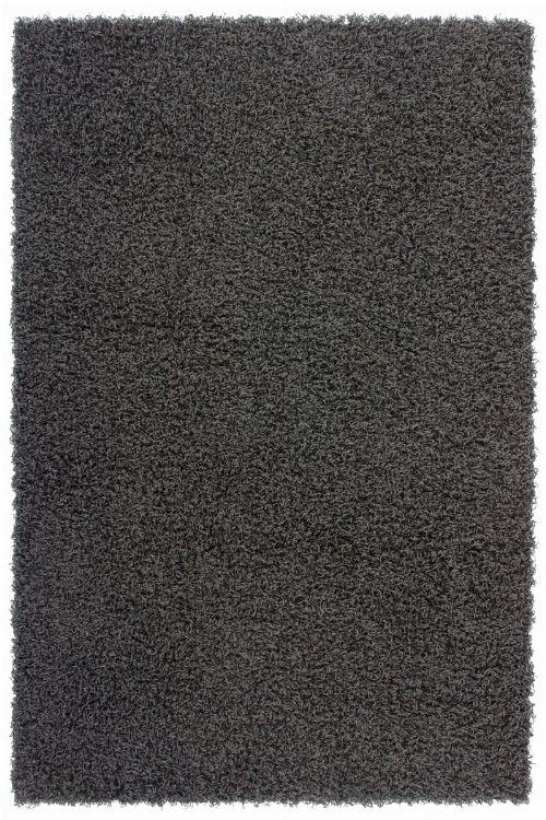 Bild: Günstiger Hochflorteppich - Funky (Anthrazit; 160 x 230 cm)