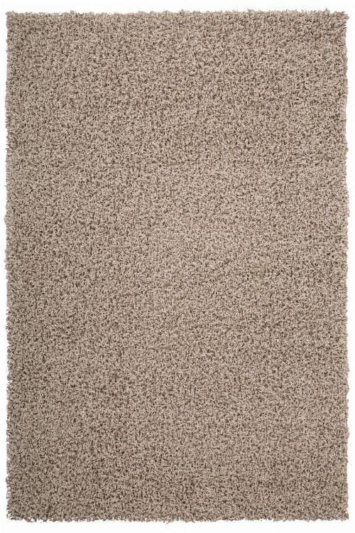 Bild: Günstiger Hochflorteppich - Funky (Beige; 60 x 110 cm)
