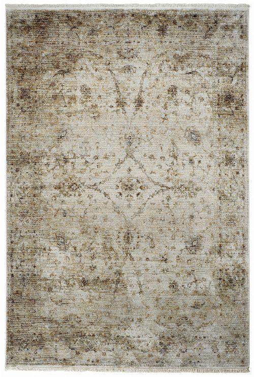Bild: Fransenteppich im Used Look - Pure (Beige; 80 x 150 cm)