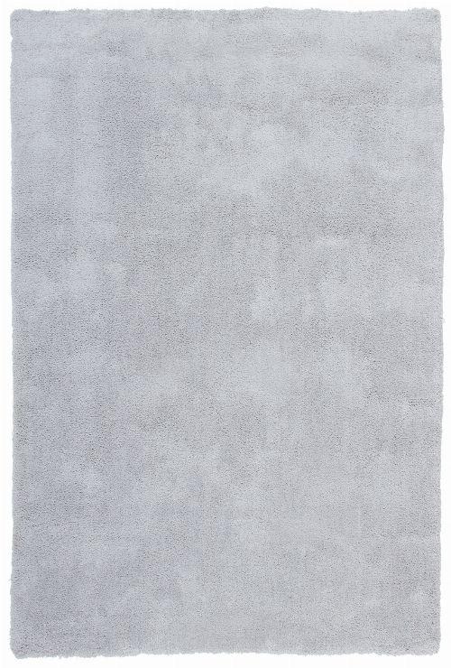 Bild: Weicher Mikrofaserteppich - Paradise (Hellgrau; 80 x 150 cm)