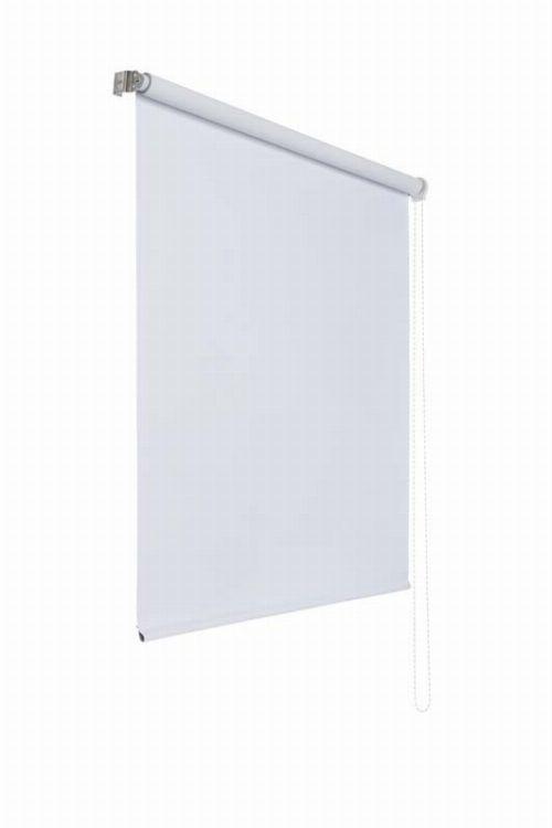 Bild: Lichtundurchlaessiges Seitenzugrollo (Weiß; 180 x 180 cm)