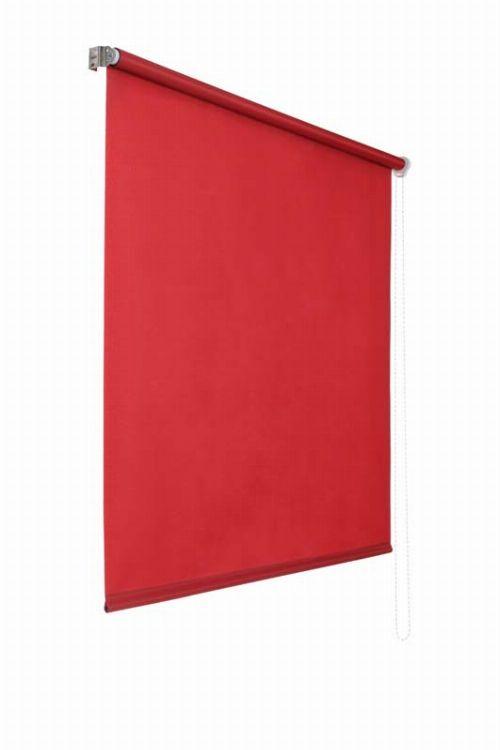 Bild: Lichtdurchlaessiges Seitenzugrollo (Rot; 180 x 160 cm)