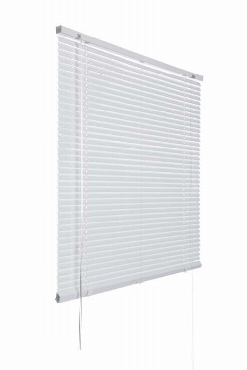 Bild: Aluminium Jalousie (Weiß; 240 x 120 cm)