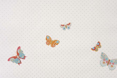 Bild: GIRLS ONLY Tapete GLN61975061 - Schmetterlinge (Blau)