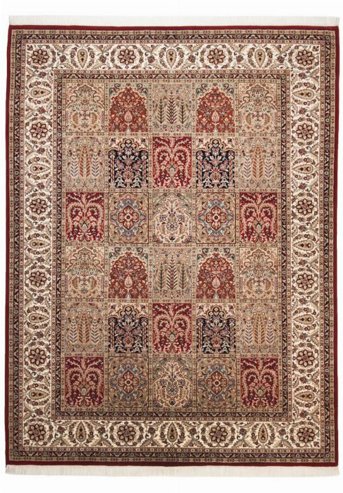 Bild: Teppich Sirsa Silk touch Bakhtiyari N (Rot; 170 x 240 cm)
