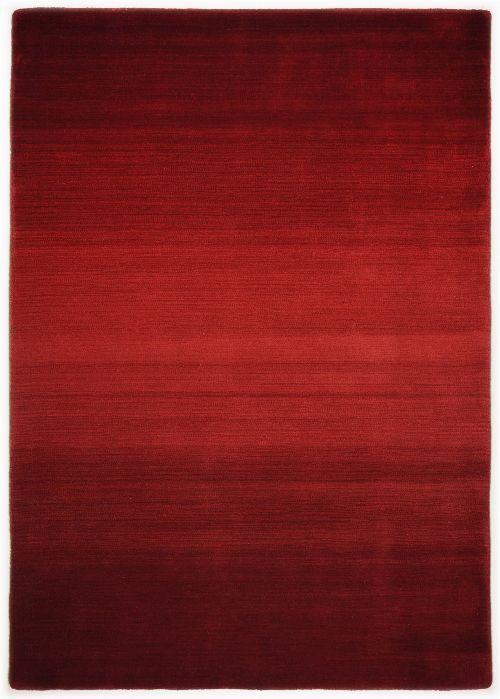 Bild: Schurwollteppich Wool Star Ombre (Rot; 160 x 230 cm)