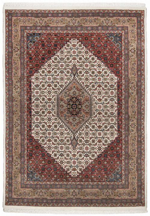 Bild: Perser Teppich Benares Bidjar (Beige; 250 x 350 cm)