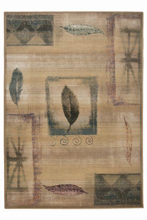 Bild: Kurzflor Teppich Gabiro Des.003 (Beige; 120 x 180 cm)