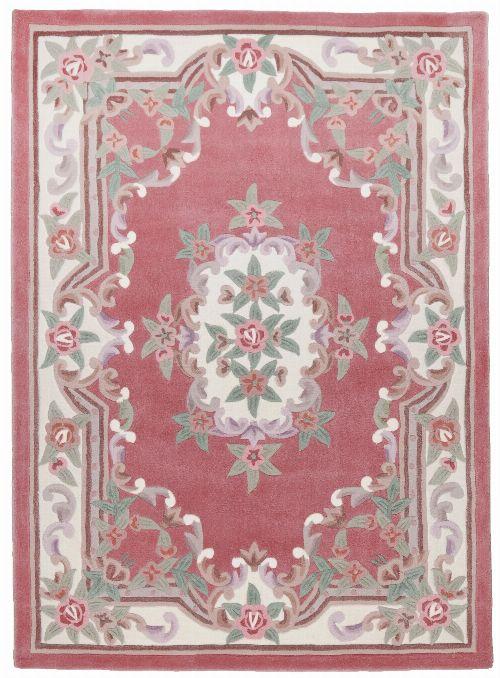 Bild: Aubusson Design Teppich Ming 501 (Rose; 240 x 340 cm)