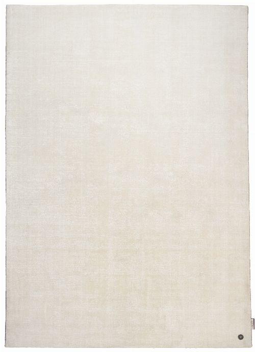 Bild: Viskose Teppich - Shine Uni (Weiß; 160 x 230 cm)