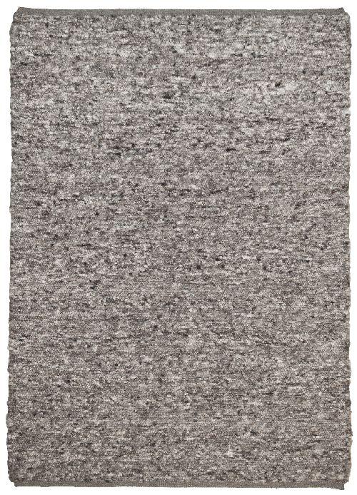 Bild: Schurwollteppich Woll Lust Uni (Grau; 190 x 290 cm)