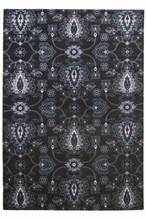 Bild: Ornament Teppich Timeless 001 (Anthrazit; 160 x 230 cm)
