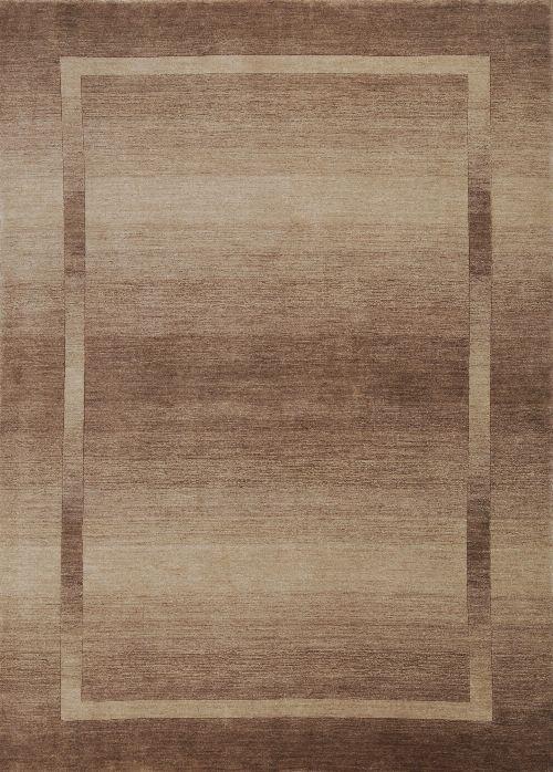 Bild: Schurwollteppich Empire (Braun; 190 x 290 cm)