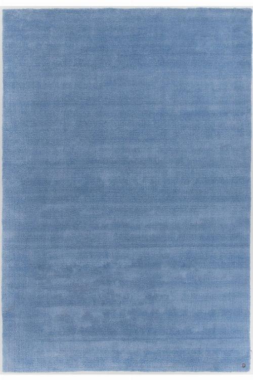 Bild: Kurzflor Teppich - Powder (Blau; 190 x 290 cm)