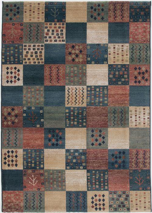 Bild: Karo Teppich Gabiro Des.2274 (Multicolor; 120 x 180 cm)