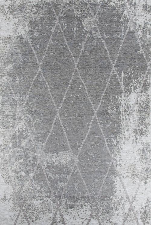 Bild: Vintage Teppich - Fine Lines (Grau; 68 x 130 cm)