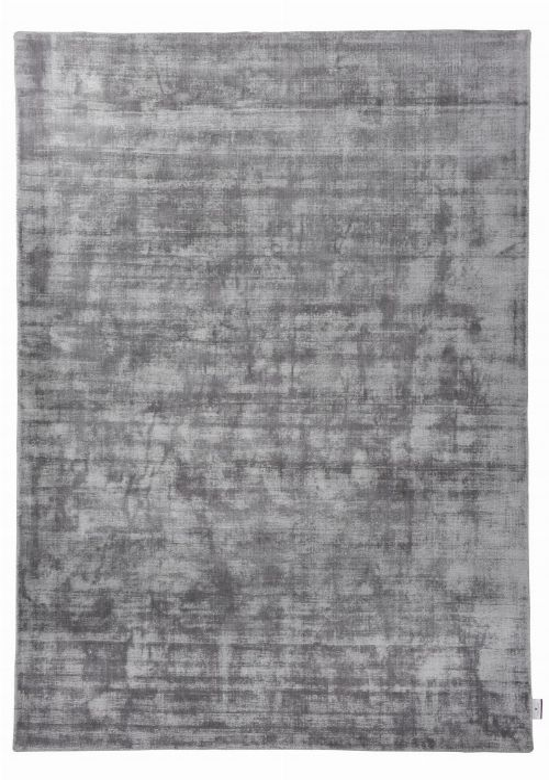 Bild: TOM TAILOR Viskose Teppich - Shine Uni (Grau; 135 x 65 cm)