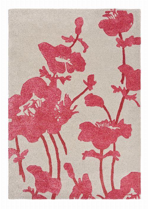 Bild: Florence Broadhurst Designerteppich Floral 300 - Rosa