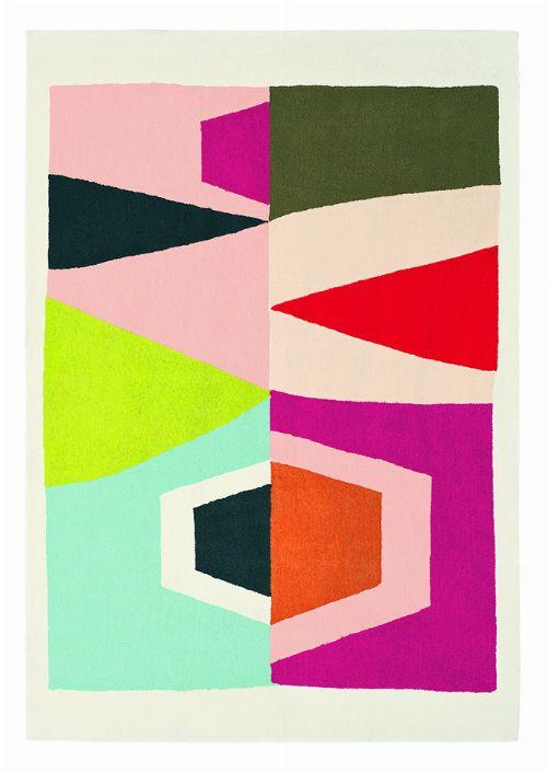 Bild: Ethno-Design Teppich Estella Totem 878502 - Weiß