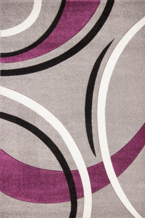 Bild: Teppich Venlo - Silber