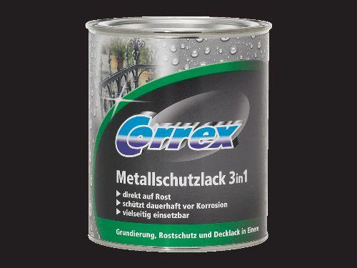 Bild: Metallschutzlack 3in1 - Schwarz matt