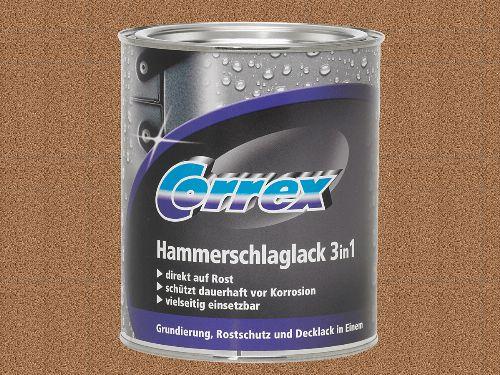 Bild: Hammerschlaglack 3in1 - Kupfer