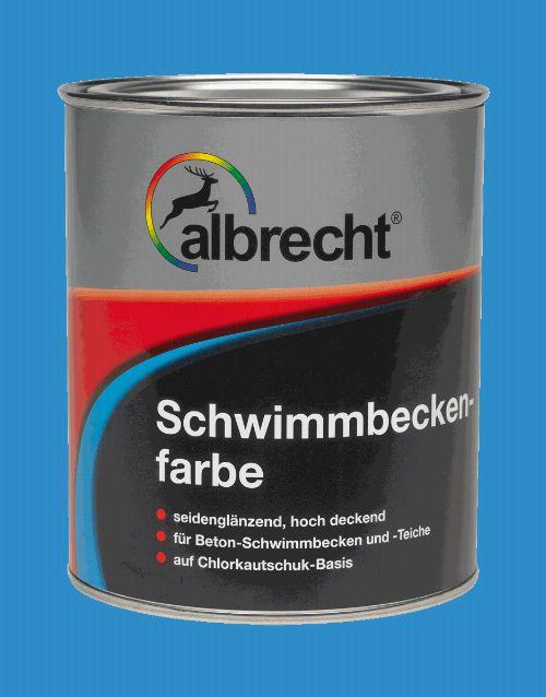 Bild: Schwimmbeckenfarbe - RAL 0119