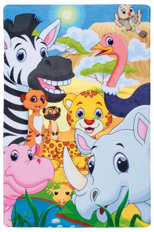 Bild: Safari Kinderteppich - Savannah