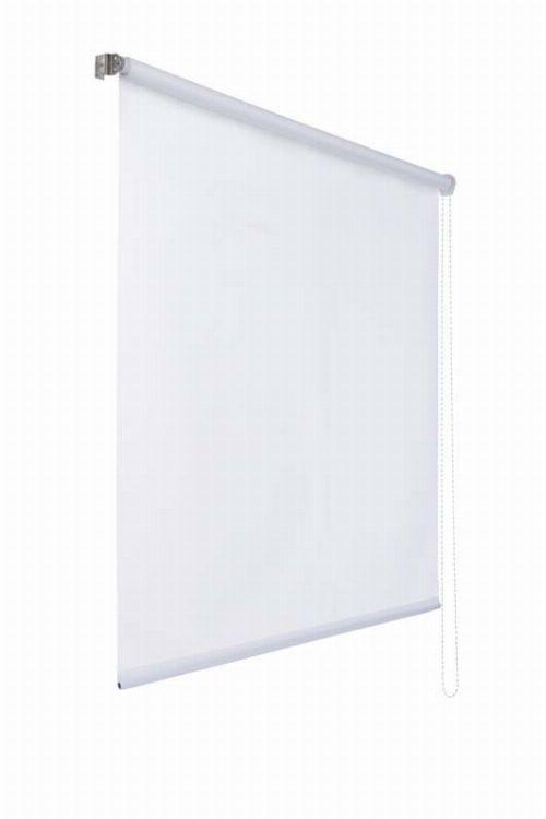 Bild: Lichtdurchlaessiges Seitenzugrollo - Weiß