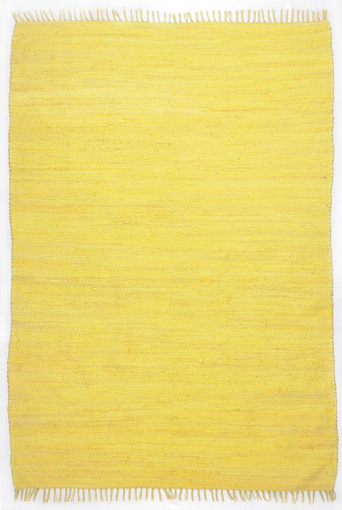 Bild: Webteppich Happy Cotton Uni - Gelb