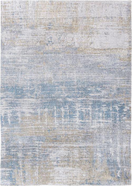 Bild: Louis de poortere Vintageteppich Streaks (Long Island Blue; 230 x 330 cm)